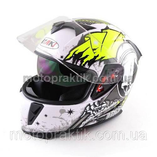 Шлем (интеграл) Ataki FF311 Skull