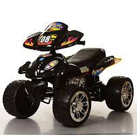 Детский квадроцикл M 2403ER-2 колеса EVA, черный***