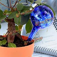 3шт стеклянный шар сада автоматический инструмент полива капли консервированный ирригационный диспетчер завода