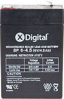 Аккумулятор для электромобиля 6х4.5
