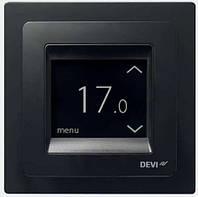 Терморегулятор DEVIreg™ Touch сенсорный Черный
