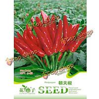 30шт сада специи красный перец чили семена специи перец растительное
