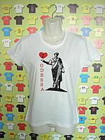 Футболка I Love Odessa (с Дюком)