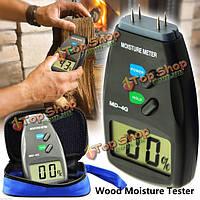 4-контактный цифровой тестер влажности древесины метр садоводство влажных детектор тестера