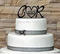 Свадебный топпер в торт!!!