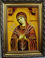 Икона со светлым образом Богородицы