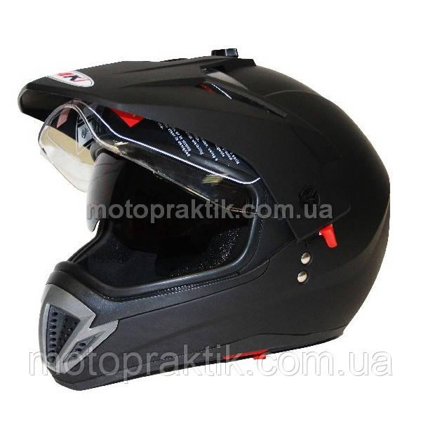 Шлем (мотард) Ataki FF103 Solid