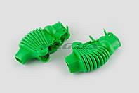 """Пыльники резиновые на ручки выжимные на мототехнику  (универсальные, зеленые)   """"XJB"""""""
