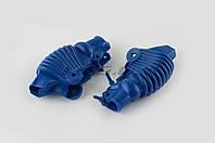 """Пыльники резиновые на ручки выжимные на мототехнику  (универсальные, синие)   """"XJB"""""""