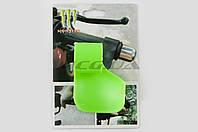 """Рычаг круиз контроля ручки газа на мототехнику  """"MONSTER ENERGY""""   (универсальный, зеленый)   """"XJB"""""""