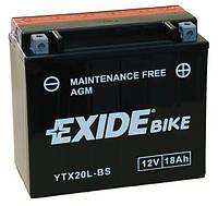 Аккумулятор, YTX20L-BS, EXIDE, AGM