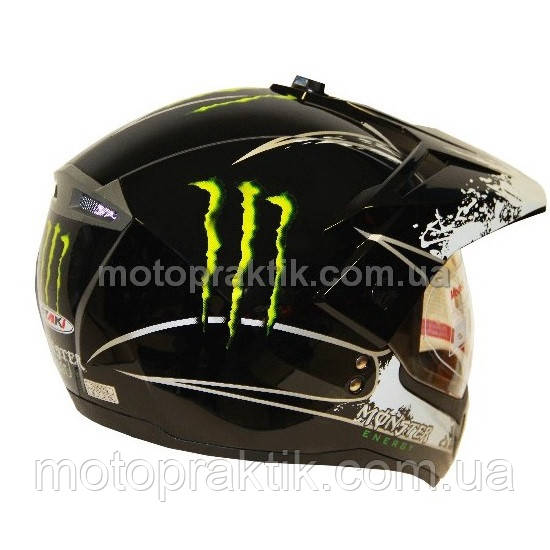 Шлем (мотард) Ataki FF103 Monster