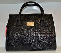 Вместительная женская сумка с принтом