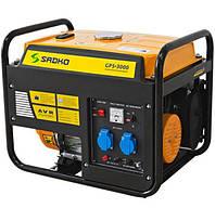 Бензогенератор Садко GPS-3000 (2,5 кВт, бензин, ручной стартер) Бесплатная доставка