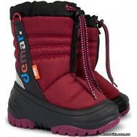 Детские зимние сапоги Demar TEDDY a (бордовые)