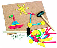 Игра с молоточком Деревянные развивающие игрушки