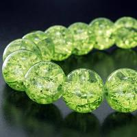"""Бусины """"Битое Стекло"""",4мм, зеленый(200 шт) УТ0002520"""