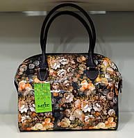 """Женская сумка """"MIC"""" цветочный принт, яркая"""