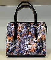 """Женская сумка """"MIC-Люкс"""" цветочный принт, яркая"""