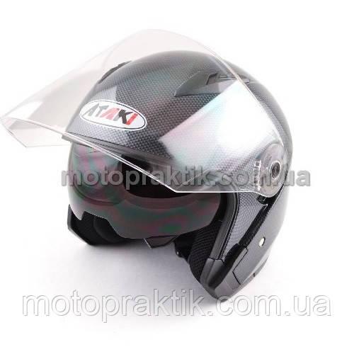 Шлем (открытый со стеклом) Ataki OF512 Carbon