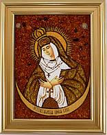 Икона Божией Матери в строгой раме