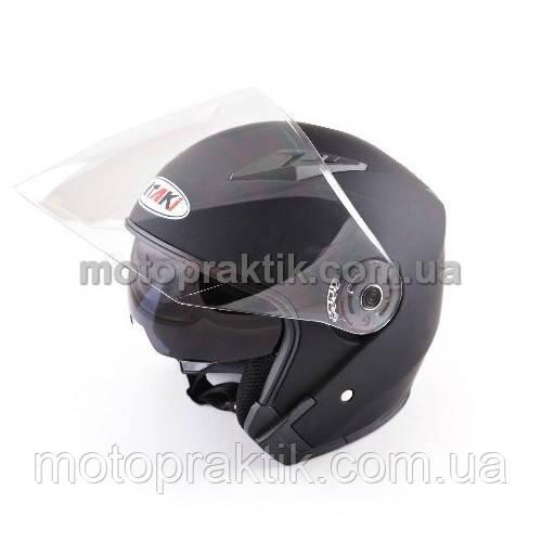 Шлем (открытый со стеклом) Ataki OF512 Solid