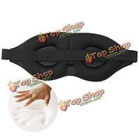 Маска для сна повязка на глаза 3d губка