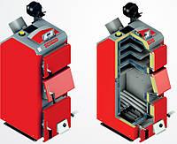 Котёл твердотопливный для отопления на угле длительного горения Defro KDR 35 кВт