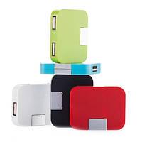 USB-хаб на 4 порта (красный)
