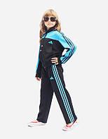 Яркий спортивный костюм, мята, голубой, малиновый, белый. Ребенок , подросток. Унисекс, фото 1