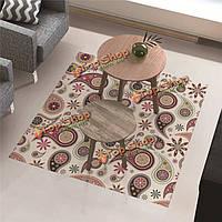 Вол наклейки этаж чайный столик декора съемное водонепроницаемый анти занос пол пропуск домой гостиной