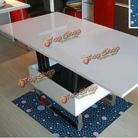 Вол съемное водонепроницаемый наклейки этаж таблице декор анти занос пол пропуск домой синий горошек