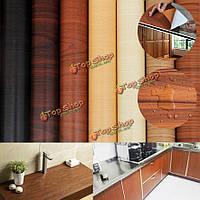 1 рулон 32.8ft деревянные зерна деколи мебели ремонт наклейки ремонт стены наклейки обоев