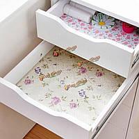 200см цветочные точки наклейка полка шкаф ящик лайнера кухонный шкаф стол коврик коврик домашнего декора