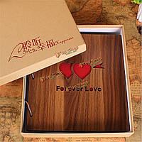 Ретро DIY альбом ручной работы ручной творческий пара детское фото квадрат книга домашнего декора подарок