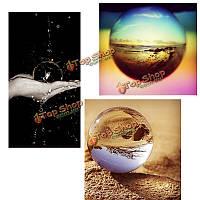 Кварц чистый ясно магия хрусталь исцеления мяч в зеркалах slickball сфера 60мм с подставкой