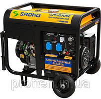Генератор SADKO GPS-8500E (7,0 кВт, бензин, электростартер) Бесплатная доставка