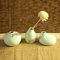 3шт керамическая ваза цветок бутылка керамические украшения цветок Aroma гончарные предметы интерьера декор