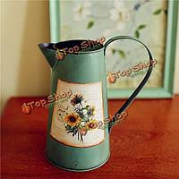 Железный лист ваза zakkz цветок бутылки цветок украшения организовать Americana стиле кантри домашний декор