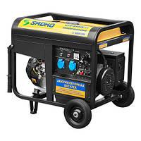 Генератор SADKO GPS-8500E ATS (7,0 кВт, бензин, автоматический запуск ATS) Бесплатная доставка