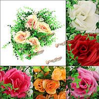 Звезды моделирования цветы искусственные пластиковые газонные свадьбы домой кафе-ресторан садовый декор