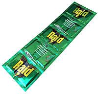 """Пластины от комаров """"RAID"""" (10шт/лист) с ароматом хвойного леса"""