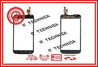 Тачскрин LG P715 Optimus L7 II Черный ОРИГИНАЛ