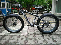 Электровелосипед LKS FATBIKE Electro Rear Drive (чёрный)