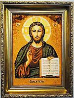 Икона Иисус Христос в красивой раме