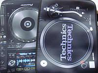 Сумка для ноутбука для DJ с изображением Pioneer cdj2000 и djm2000,  Technics 1210mk2
