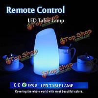 Творческий пульт дистанционного управления LED настольная лампа свет бар КТВ свет декора