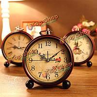 Старинные часы aralm стол стол настенные часы ретро в сельском стиле декоративного домашнего декора часы