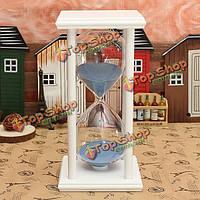 60 минут деревянной раме песочные часы песочные часы песочные домашнего декора подарка