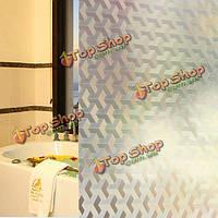 45x100см двухмерный лестница оконное стекло наклейки съемный